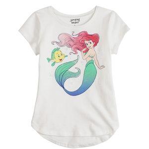 Disney Ariel Short sleeve shirt  new!